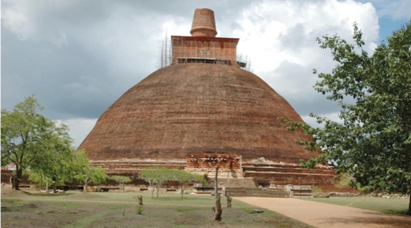 Abhayagiri Stupa at Anuradhapura