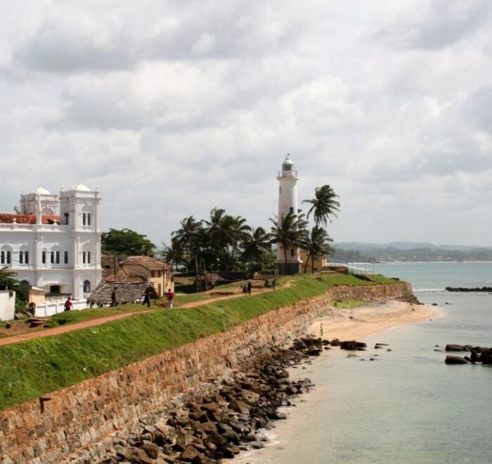Lighthouse at Galle fort