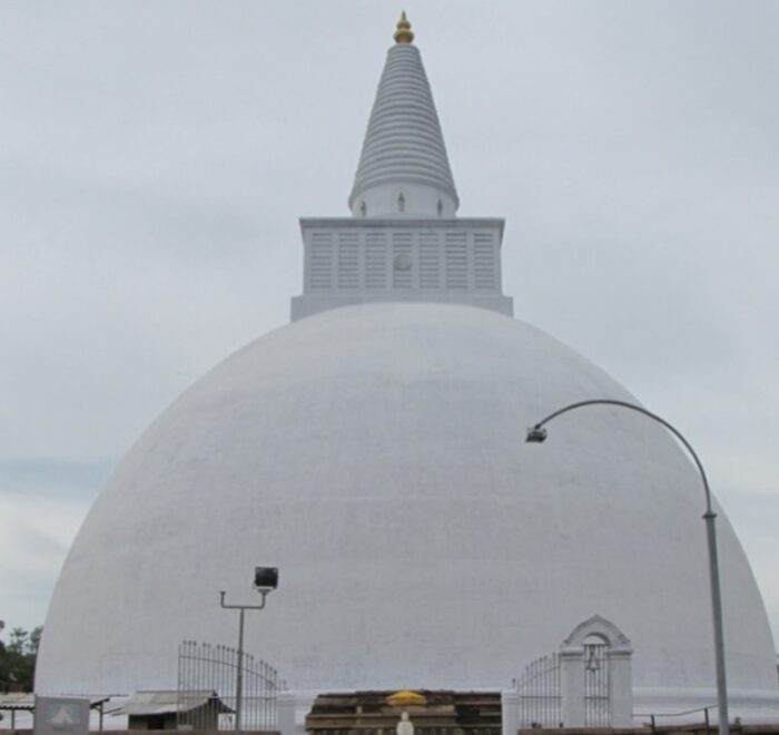 Mirisawetiya Stupa at Anuradhapura