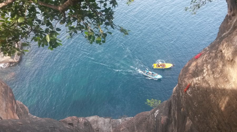 Lovers Leap at Trincomalee