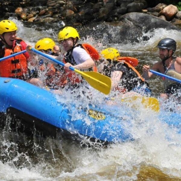 Whitewater Rafting at Kitugala